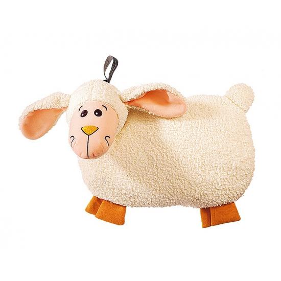 Pluche schapen-lammeren kruik