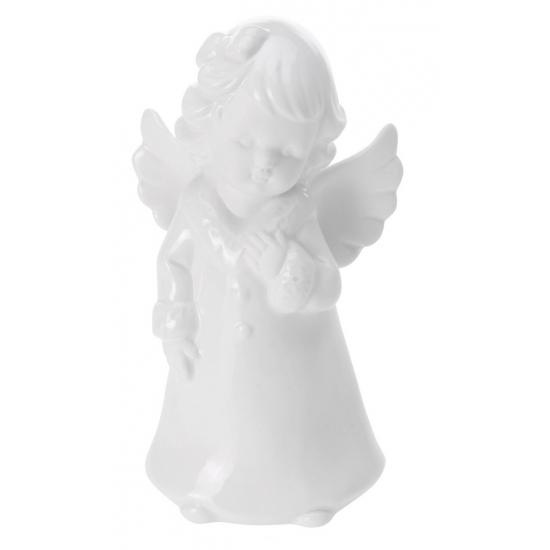 Porseleinen Engel Wit 18 Cm