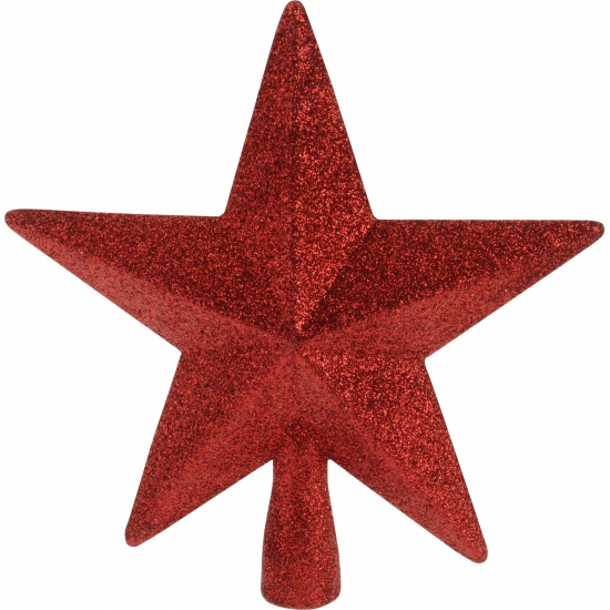 Rode onbreekbare ster piek