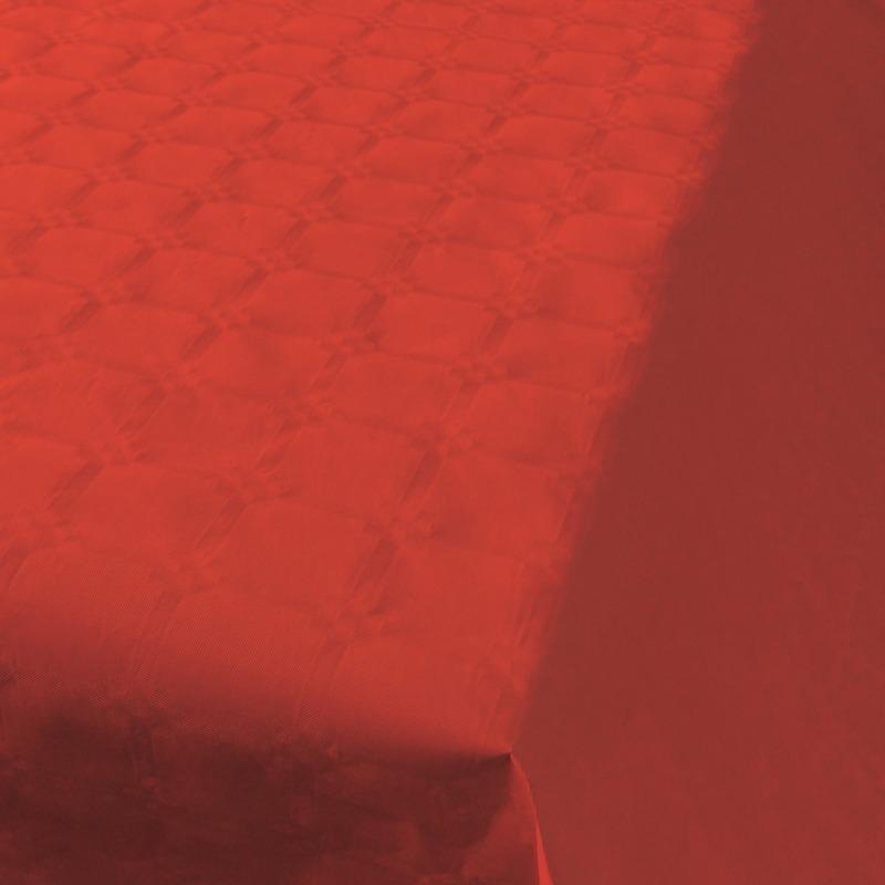 Rode thema versiering papieren tafelkleed 800 x 118 cm