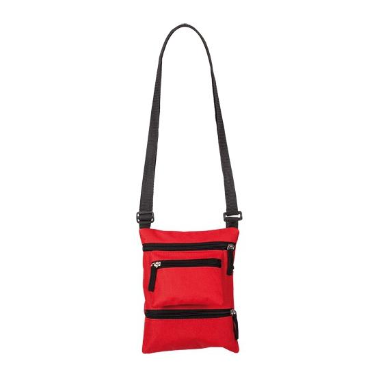 Rood smartphone schoudertasje