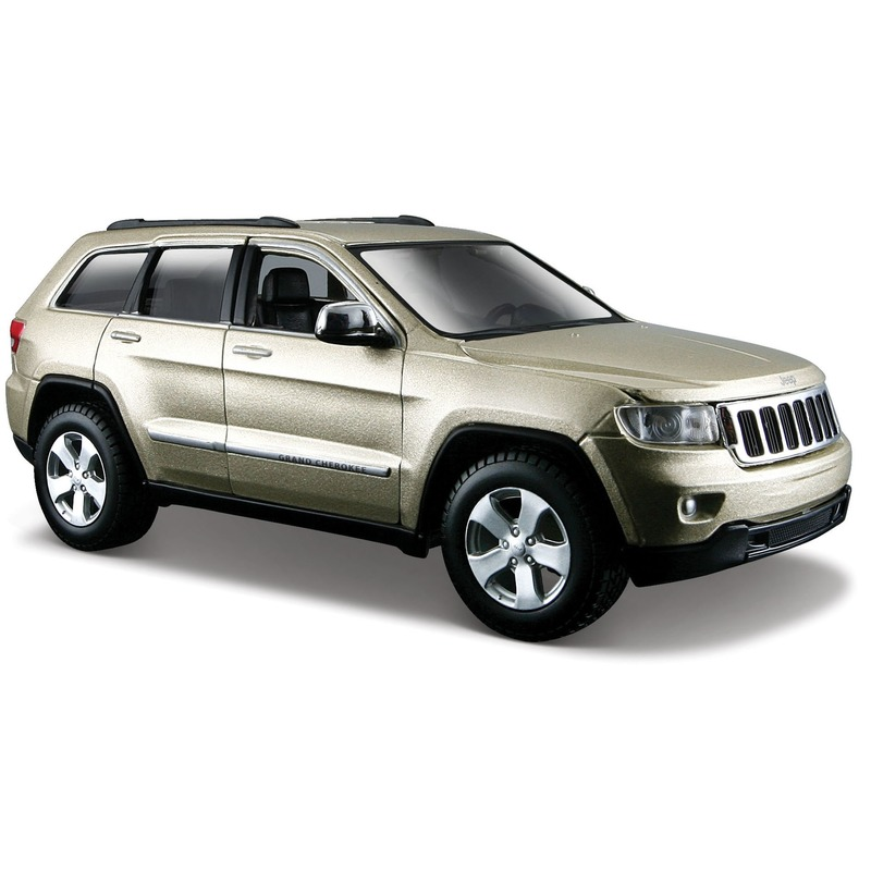 Schaalmodel Jeep Grand Cherokee Laredo 18 cm