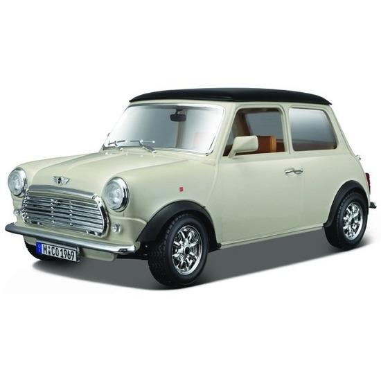 Schaalmodel Mini Cooper 1969 1:18