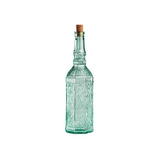 Sierlijke decoratie flessen met kurk