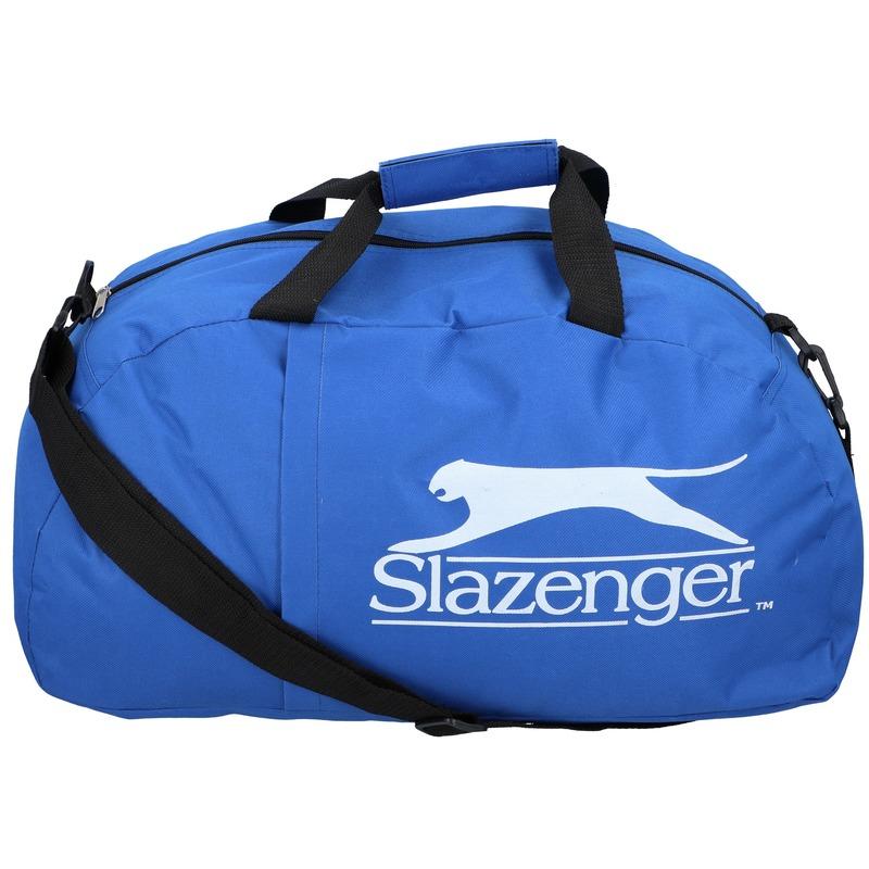 Slazenger voetbal tas blauw 45 liter