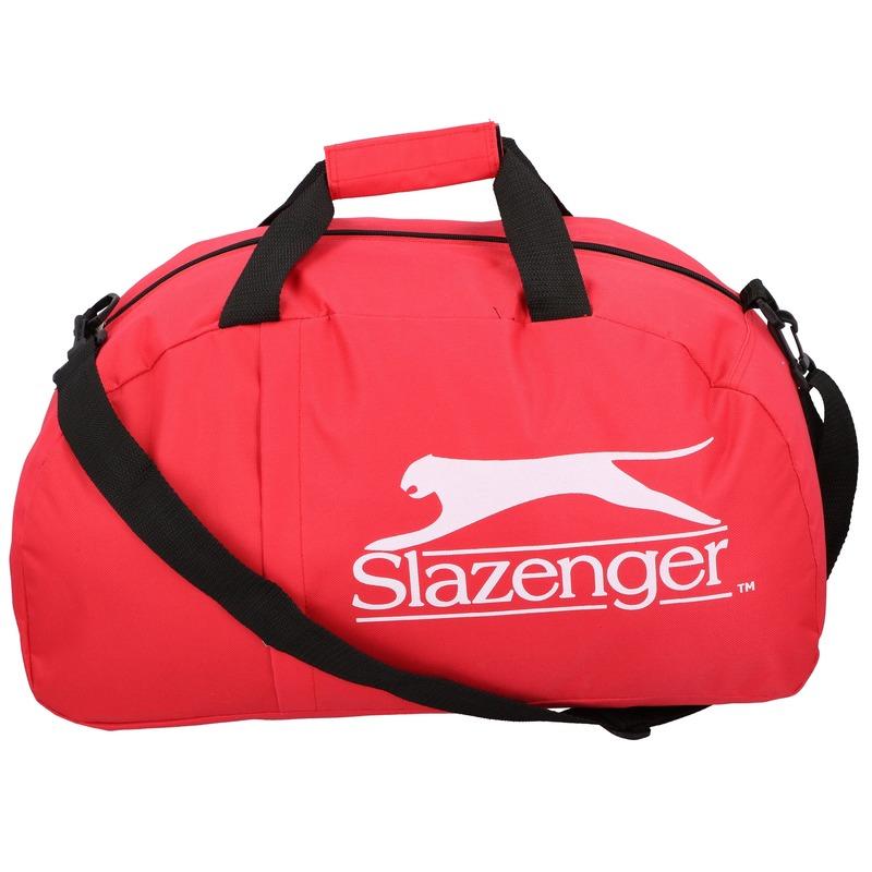Slazenger voetbal tas rood 45 liter