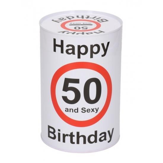 Spaarpot 50 jaar 15 cm