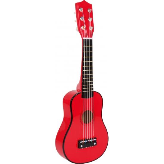 Speelgoed gitaren rood voor kinderen