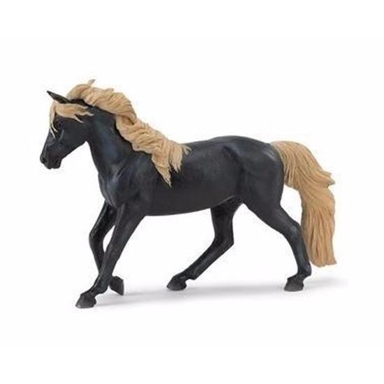 Speelgoed nep paard hengst Rocky Mountain Horse 15 cm