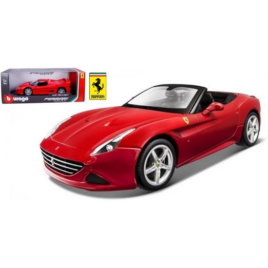 Speelgoedauto Ferrari California T rood 1:18