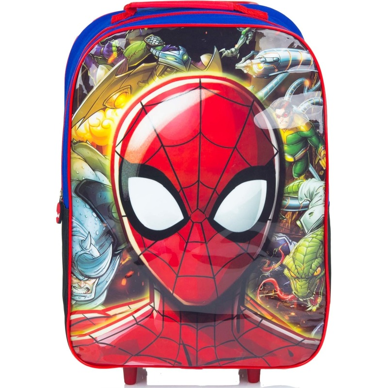 Spiderman koffer op wieltjes 42 cm voor kinderen
