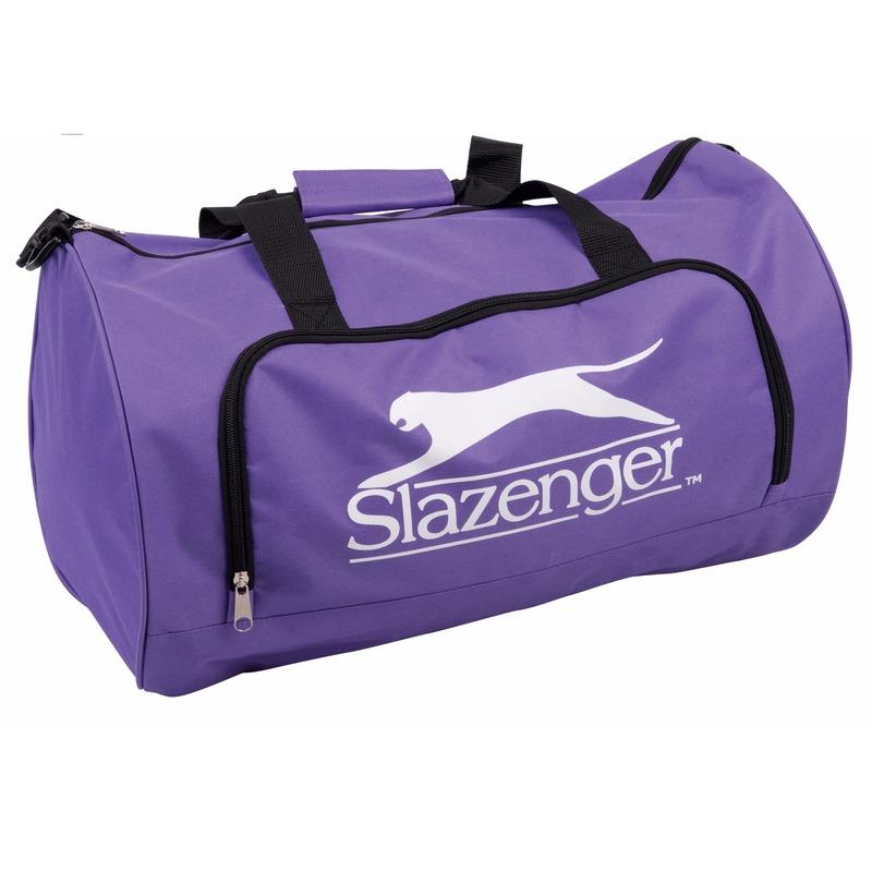 Sportieve reis tas in het paars 50x30x30 cm