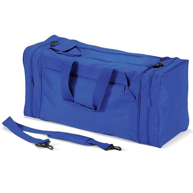 Sporttas kobalblauw 74 liter