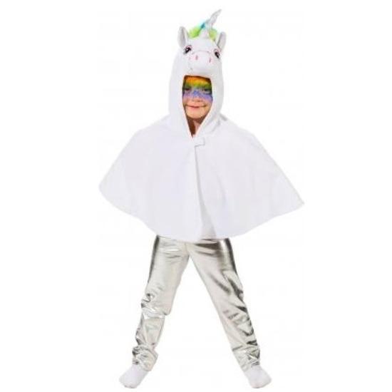 Verkleed accessoire legging zilver voor kinderen
