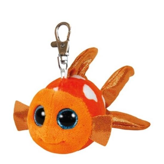 Vissen sleutelhanger Ty Beanie 12 cm