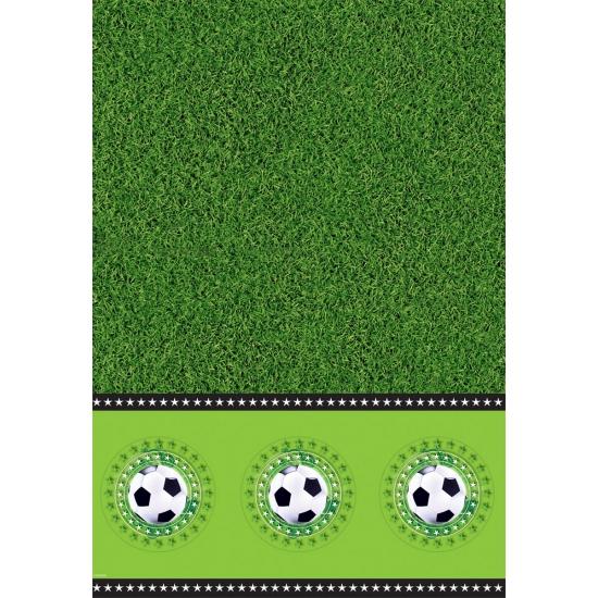 Voetbalveld tafelkleed 130 x 180 cm