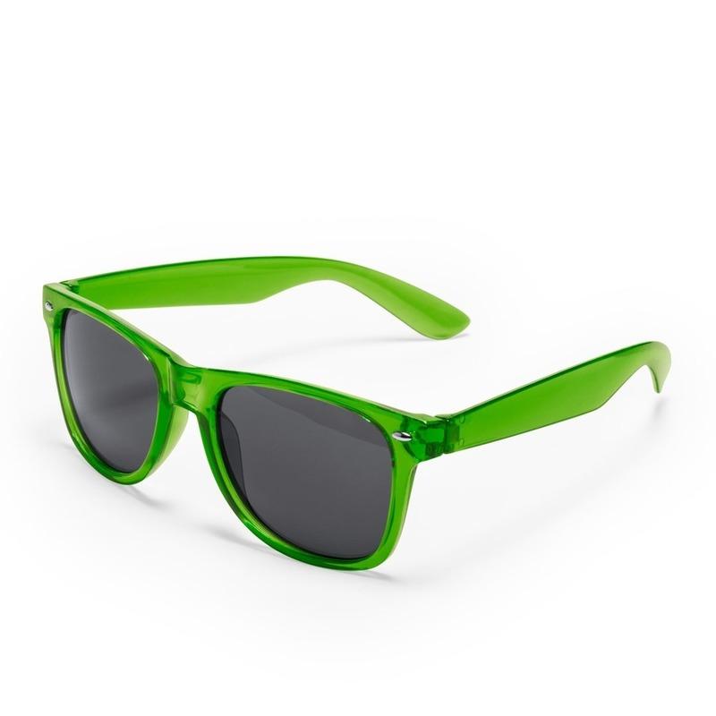 473f99ca228bce Voordelige groene verkleed zonnebril € 1.99. Bij  oranjediscounter.nl