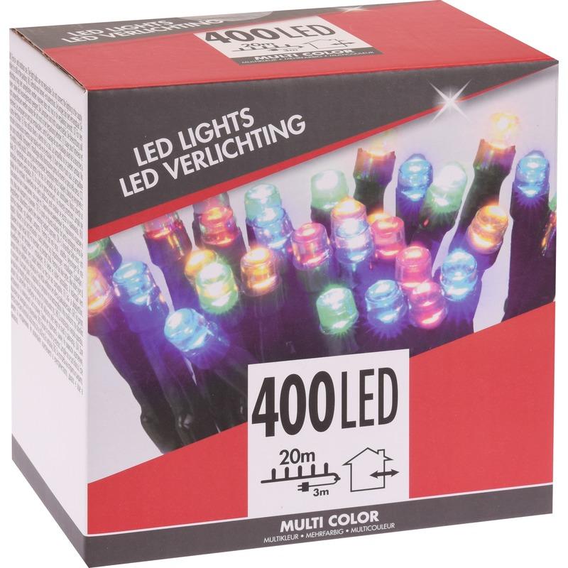 Voordelige kerstverlichting gekleurd buiten 400 lichtjes