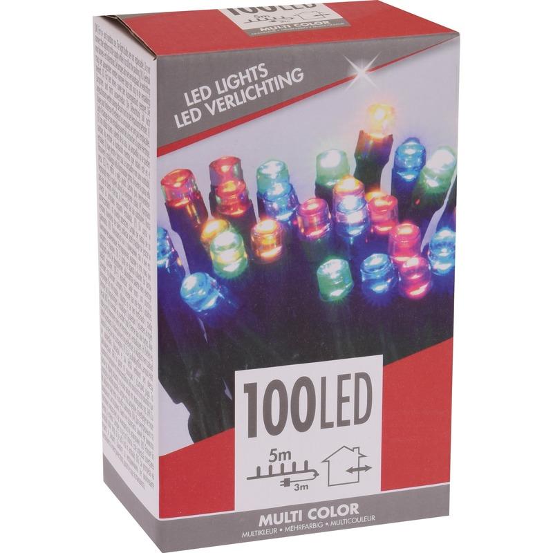 Voordelige kerstverlichting kleur buiten 100 lichtjes