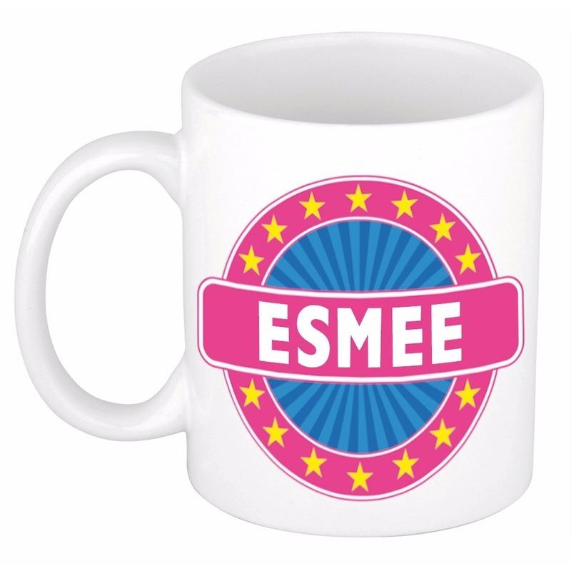 Voornaam Esmee Koffie/thee Mok Of Beker