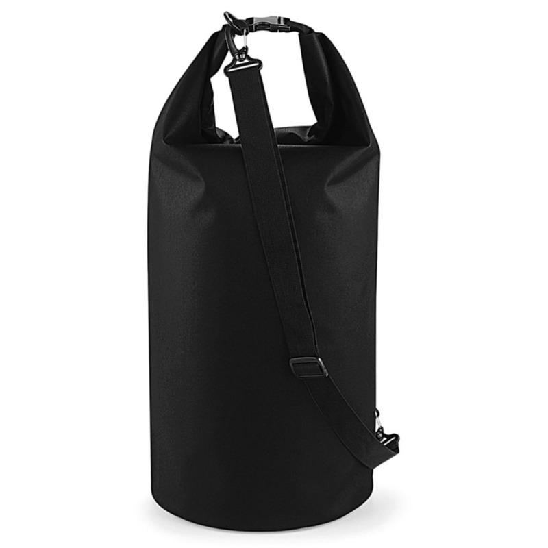 Watersport tas drytube 40 liter zwart 30 x 55 cm