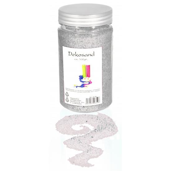 Wit decoratie zand 500 gram