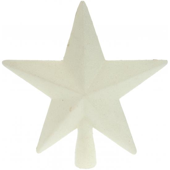 Witte onbreekbare ster piek