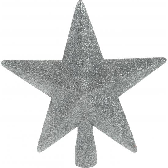 Zilveren onbreekbare ster piek