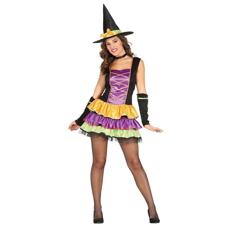eccbd6c26f5e86 Zwarte heksen jurk voor dames