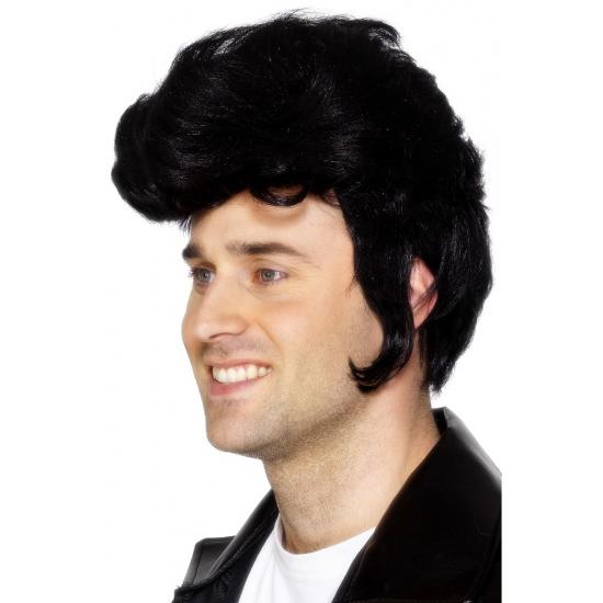 Zwarte Elvis Pruiken
