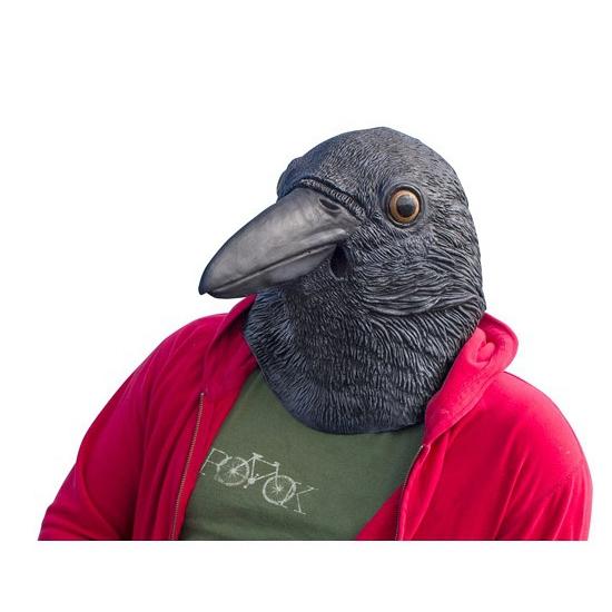 Zwarte Kraaien Vogel Masker